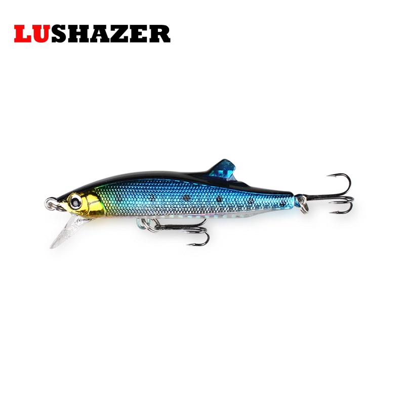 LUSHAZER Minnow Fishing Bait 26g 85mm Isca Artificial Carp Fishing Hard Lure China Wobbler Swimbait Fishing Tackle Free Shipping lushazer fishing lure minnow bait 18g hard lures carp fishing iscas artificiais 2016 wobbler crankbait cheap sea fishing tackle