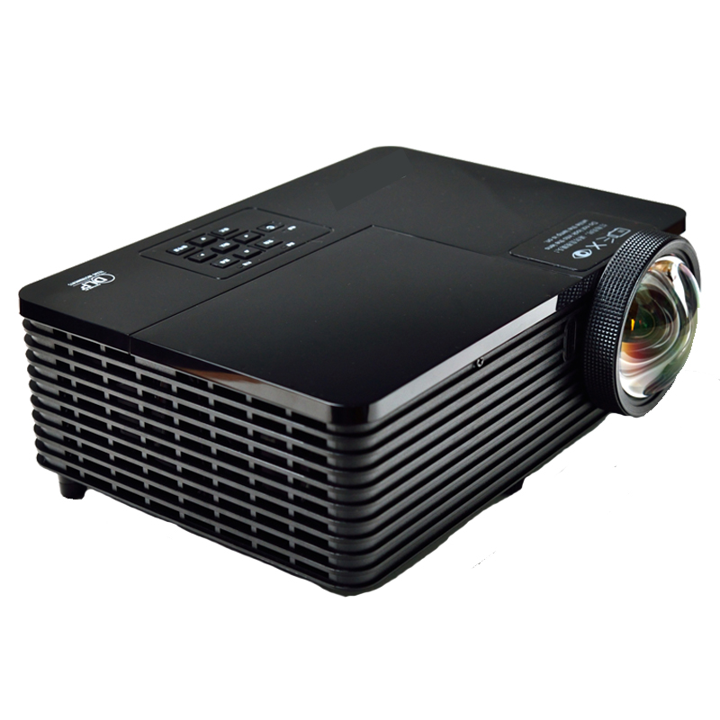 Best Short throw lens Daylight USB HDMI Home Theater XGA 1080p full HD 3D DLP Projector Proyector beamer for church hall hotel new short throw 300inch dlp hologram 3d projector hd pc usb vga daylight 1080p rear video beamer lamp for education school