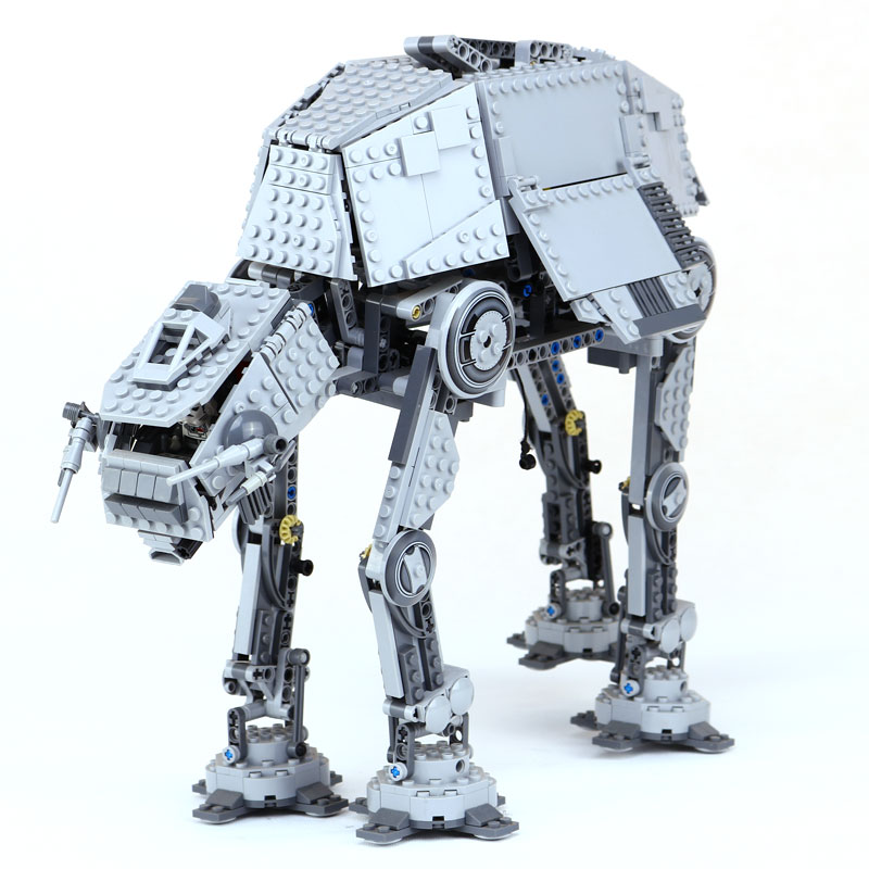 Star 1137Pcs Wars Lepin 05050 Cool AT Robot AT Model Building Blocks Brick Classic LegoINGlys 10178 for Children Toys Gift lepin 14042 knights heavy armed mobile tracker model building blocks brick toys for children christma gift legoinglys 72006