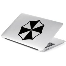 Umbrella Corporation Vinyl Decal Sticker # 846 (4 x 4, Black)