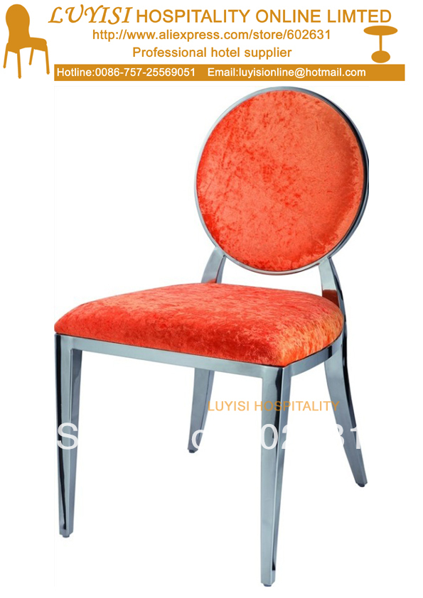 Stainless Steel Hotel Chair LYS-D4,srong And Comfortable,fast Delivery