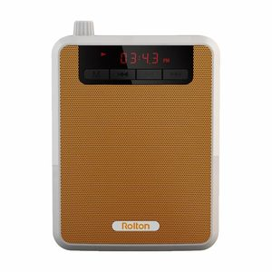 Image 2 - Rolton K300 مكبر الصوت المحمولة مضخم صوت الخصر الفرقة كليب دعم FM راديو TF MP3 المتكلم الطاقة البنك المرشدين السياحيين ، المعلمين