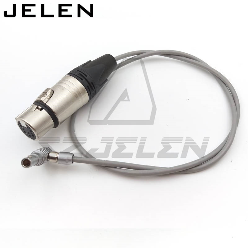 Arri Alexa Mini Audio Cable, ARRI ALEXA mini camera audio cable FHG.00B 5 pin plug to Female XLR Connector 5 pin 60CM lemo connector 8 pin plug to d tap fhj 2b 308 clld alexa mini camera power cable arri mini 8 pin connector power cable line