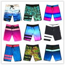 Calvn PuLL Spring Summer 2019 Phantom Beach Board Shorts Men Elastic Swimwear 100%