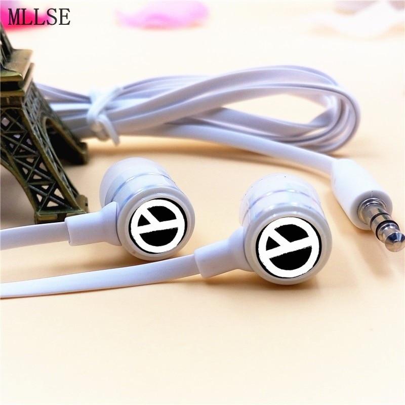 MLLSE BIGBANG G-Dragon Kwon Ji Yong GD In-ear Earphone 3.5mm Stereo Earbuds Phone Music Game Headset for Iphone Samsung MP3 MP4