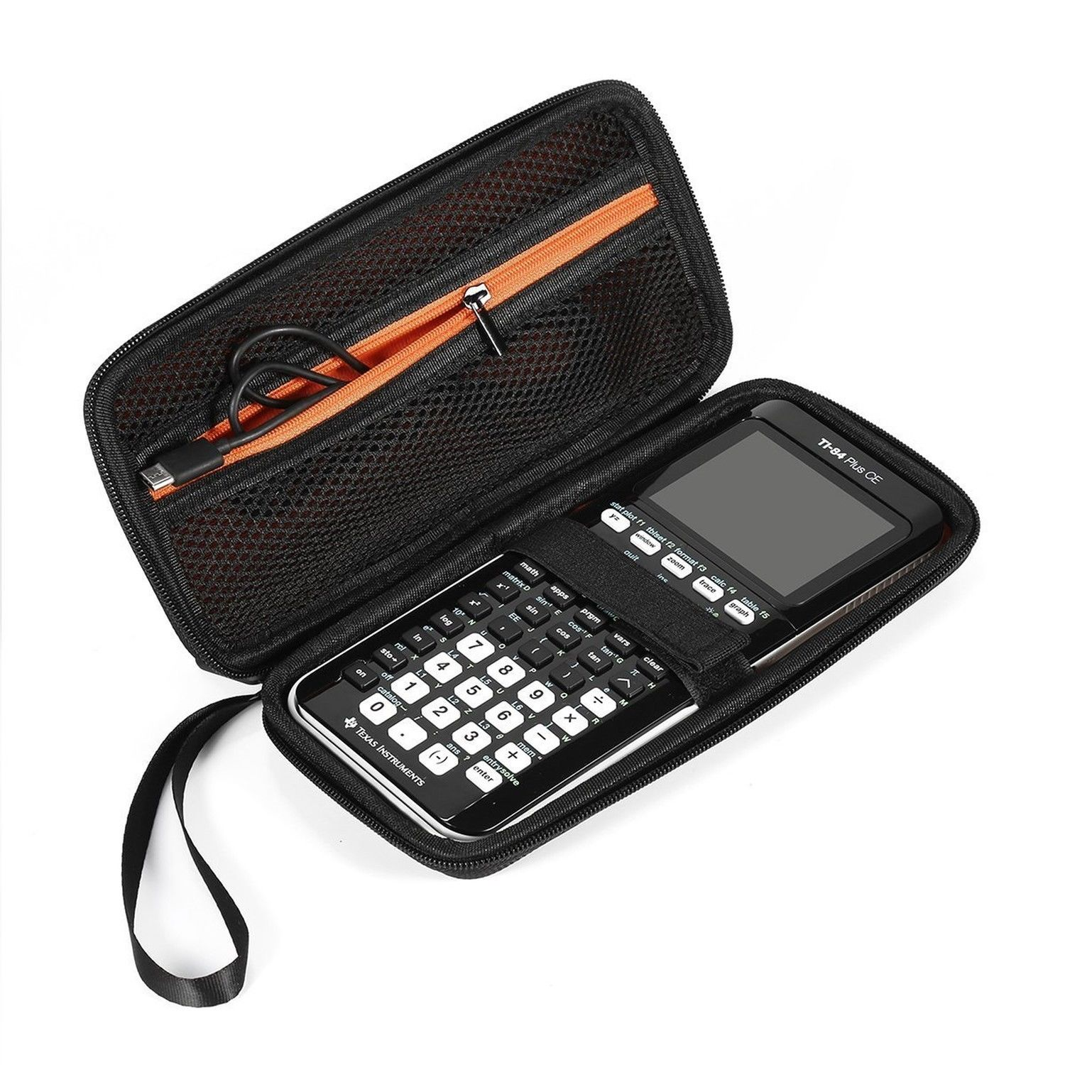 Hot For Graphing Calculator Texas Instruments TI-84 Plus CE Hard EVA Case ...