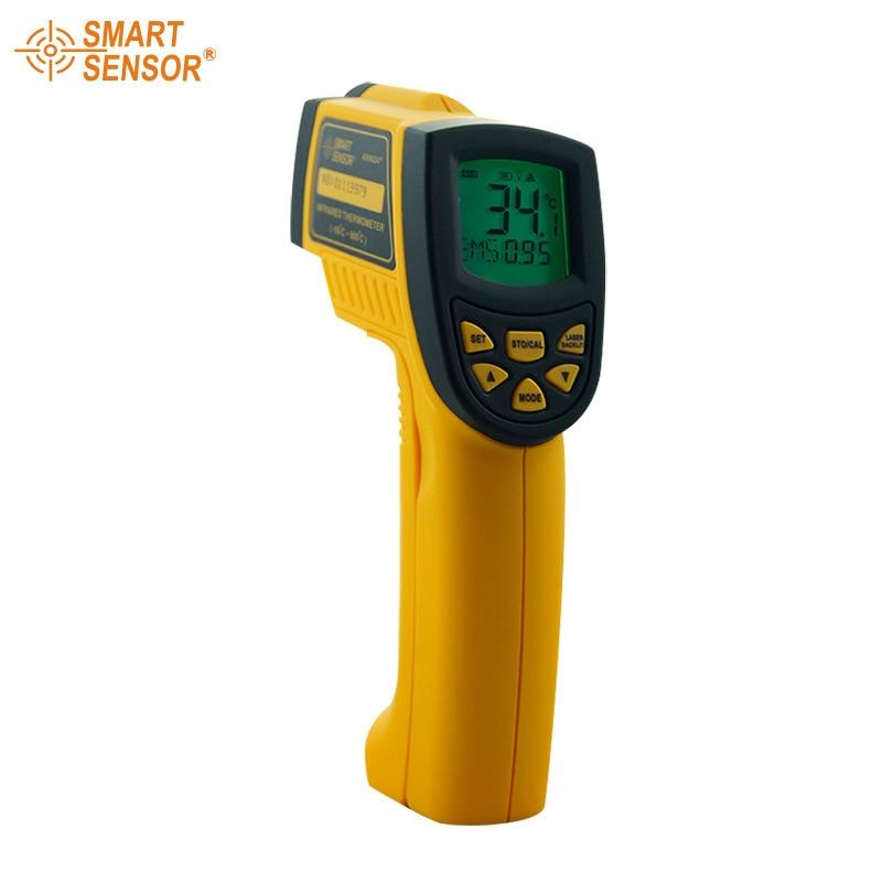 AR862A+ Digital Non-Contact Infrared IR Thermometer Laser Infrared Thermometer -50 to 900 degree dt85811h non contact digital infrared thermometer w laser orange black