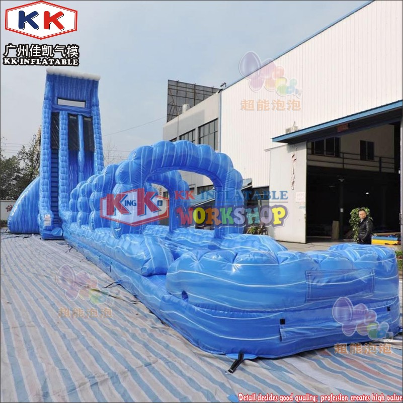Kid's Splash funland slide bouncy inflatable water slide with ball pool