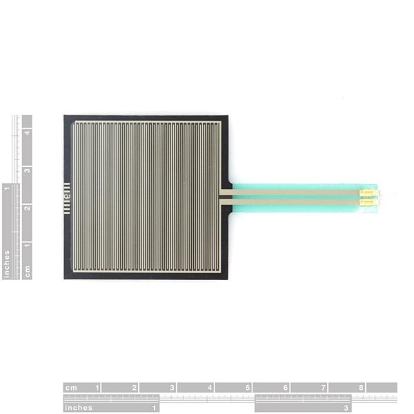 цена на Free Shipping 100% NEW Original FSR406 FSR 406 Force Sensing Resistor Thin Film Pressure Sensor Square