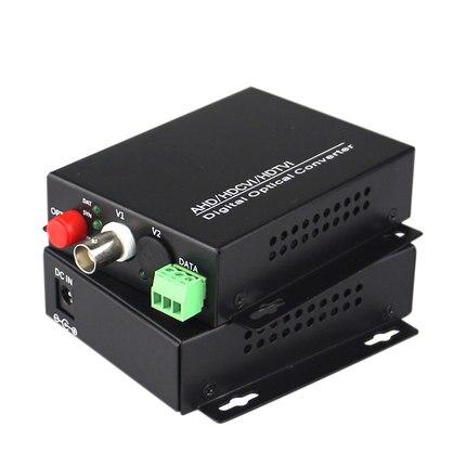 1pair 1 channel concentric 720/960P AHD CVI 1v1d RS485 FC Media converter цена