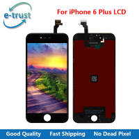E Trust Grade AAA Quality For Iphone 6 Plus LCD Display Complete Touch Screen Digitizer Home