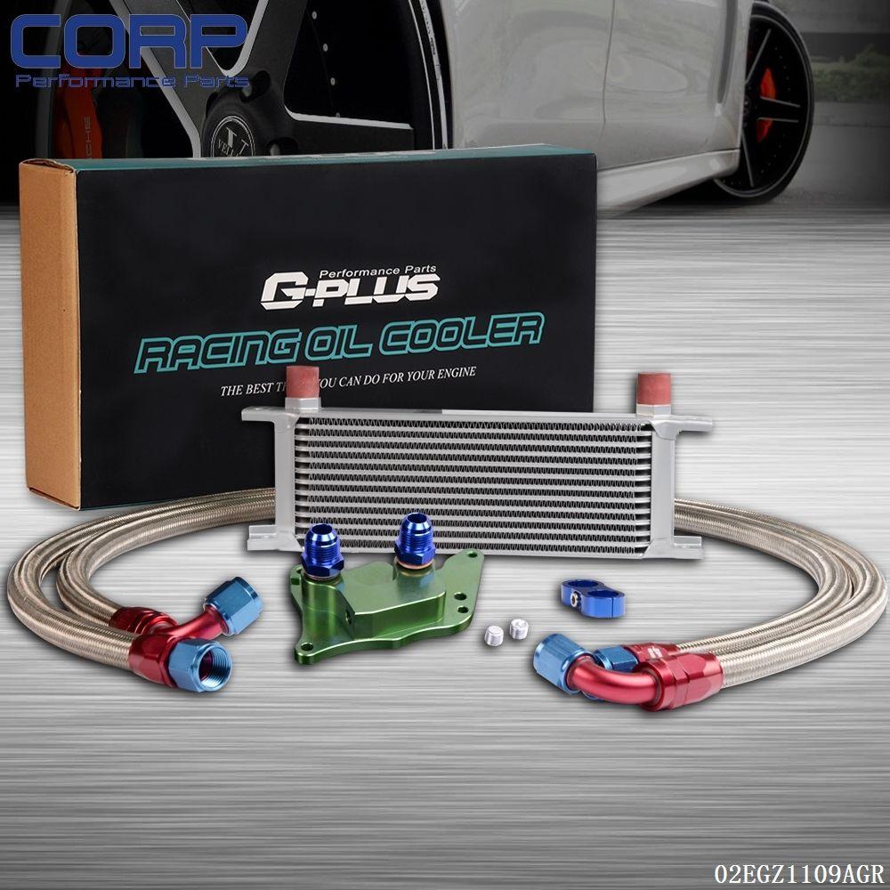 Gplus 13 Row An10an Engine Oil Cooler Kit For Bmw Mini Cooper S R56 Wiring Harness Turbo Green In Cooling Accessories From Automobiles Motorcycles On