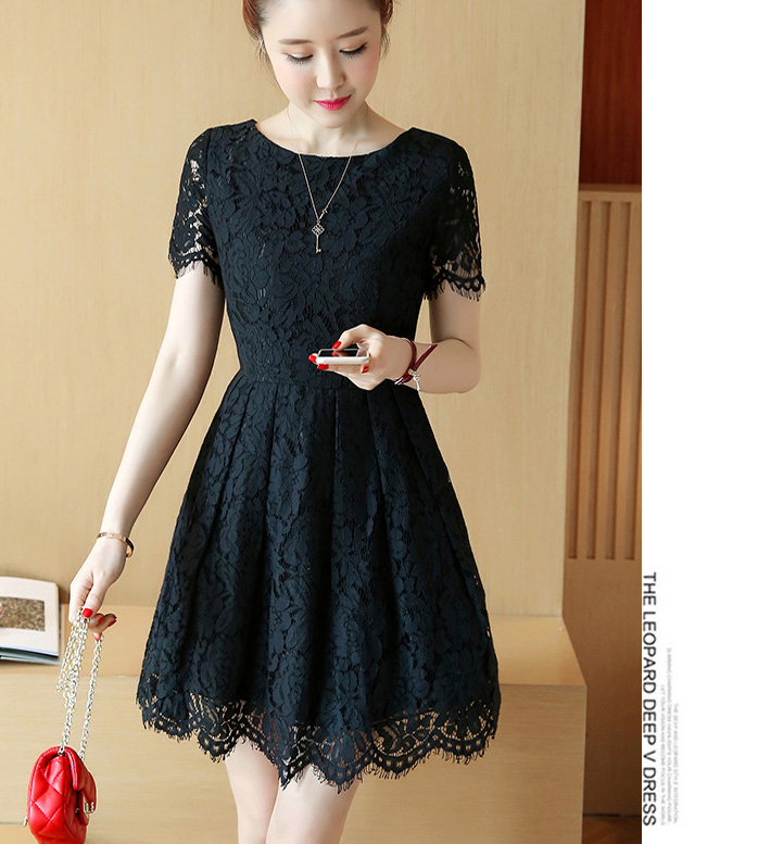 Women Dress A Line Work Business Casual Party Vestidos Free