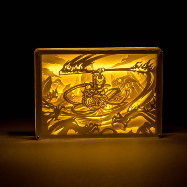 Chevet Luminaria Pour Originalité Veilleuses Singe Sculpture Roi hQrdtCs