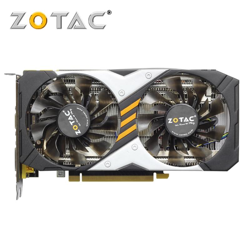 Carte graphique ZOTAC GeForce GTX950-2GD5 128Bit GDDR5 cartes graphiques pour carte originale nVIDIA GTX 950 2G dévastateurs Hdmi Dvi
