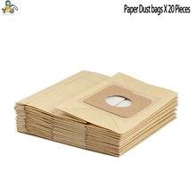 20 pack החלפת נייר שקיות עבור LG שואב אבק V 743RH V 3810R V 943SAB V 2800RH V CR543SDV אבק תיק