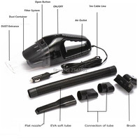 Car Vacuum Cleaner Portable Handheld Vacuum Cleaner for renault megane 3 hyundai ix35 opel astra g citroen xsara picasso e46