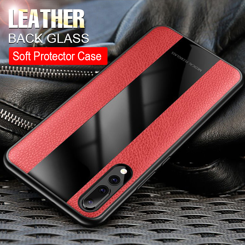 Luxury-Leather-Bumper-Case-On-The-For-Huawei-P20-Pro-Honor-8x-Phone-Case-For-Huawei