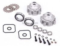 rc car alloy diff gear shell set 85039 , for rc car parts with free shipping