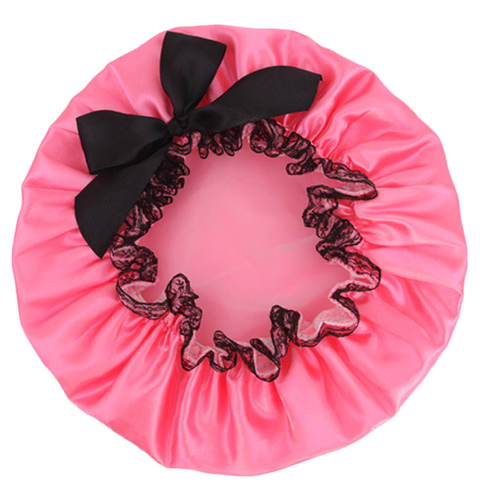 Necessaries Item Individual Special Accessory Lace Bow Shower Cap Products Modern Goods Vintage Gift Beautiful