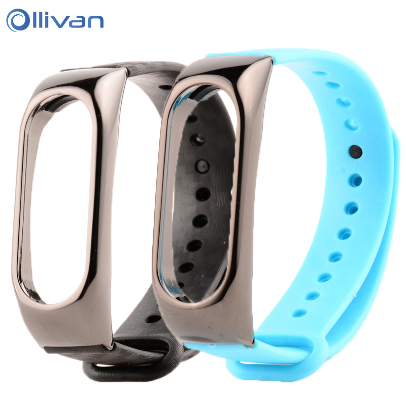 For Xiaomi Mi band 2 Strap Silicone Smart Wristband Bracelet Wrist Strap For Xiaomi Miband 2 Bracelet Smart Band Accessories strap for xiaomi mi band 2 bracelet for xiaomi mi band 2 silicone wrist for mi band 2 smart accessories wristband replacement