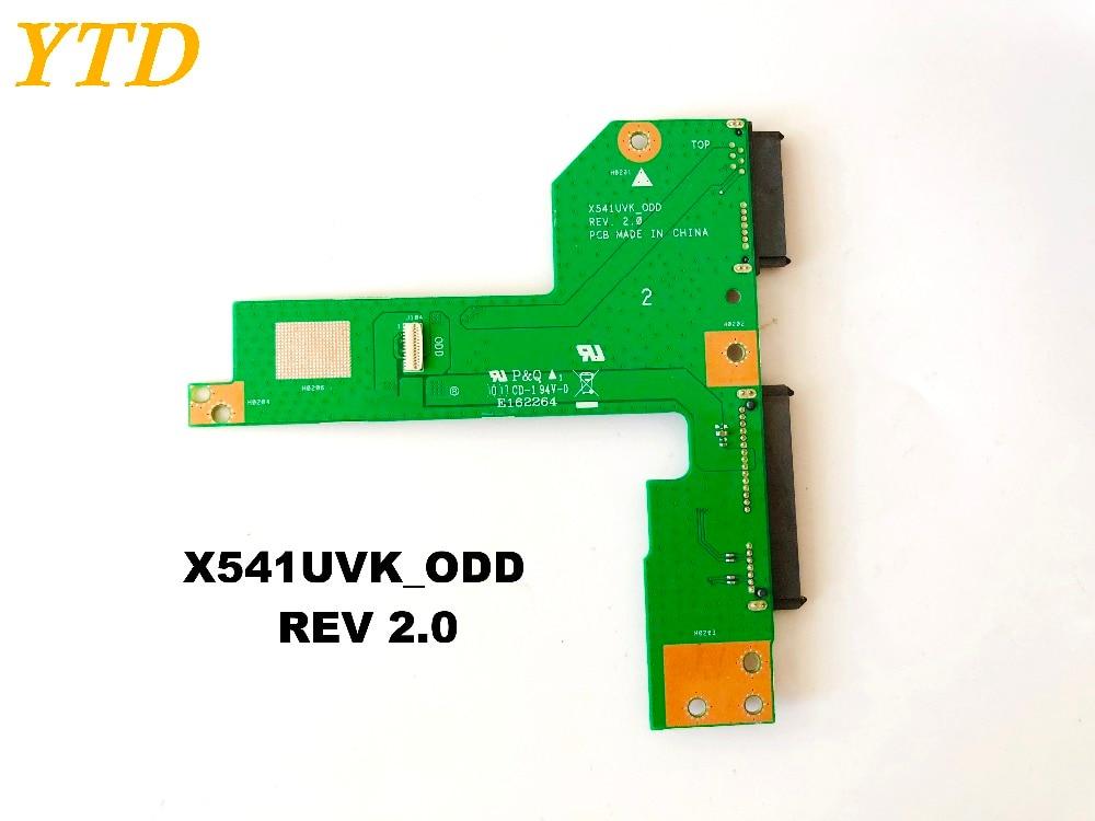 Original for ASUS X541UVK HDD board X541UVK_ODD REV 2.0 tested good free shipping Original for ASUS X541UVK HDD board X541UVK_ODD REV 2.0 tested good free shipping