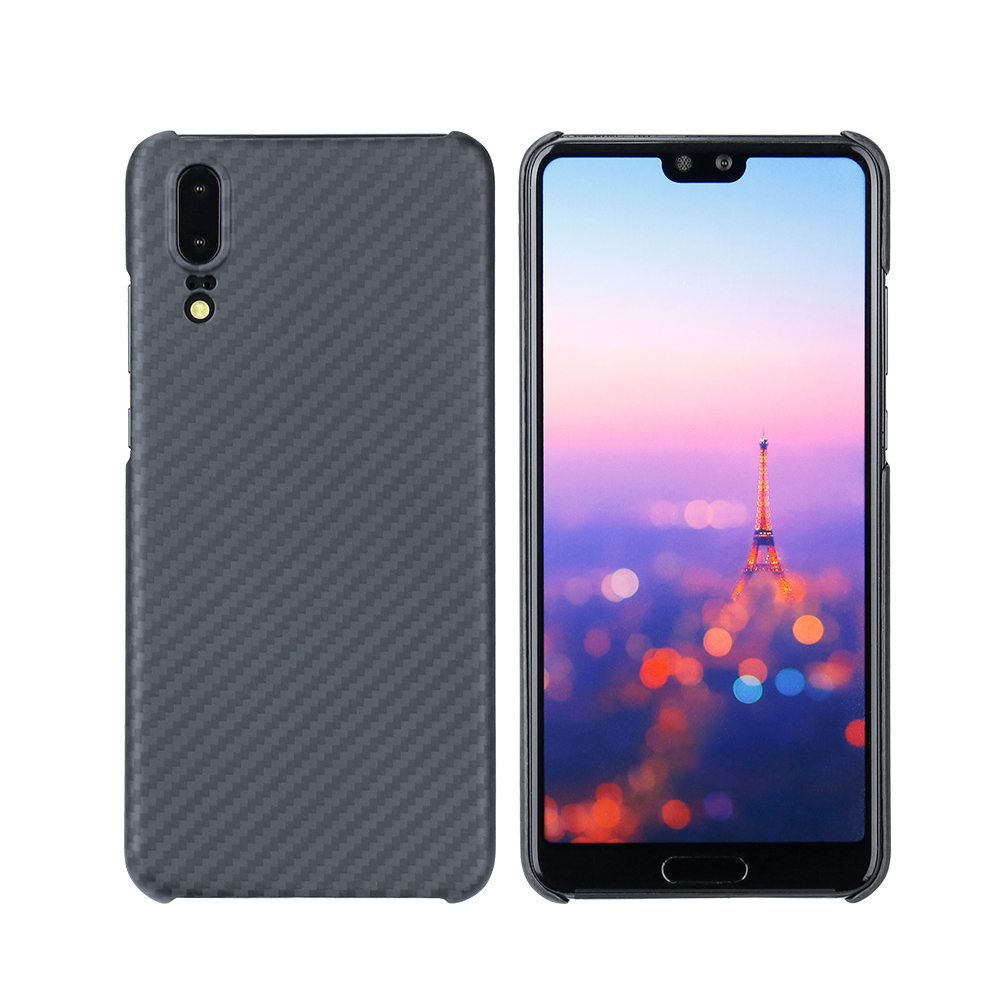 2018 Newest Ultra Thin Matte Surface Aramid Fiber Case for Huawei P20 Luxurious Phone Case Cover