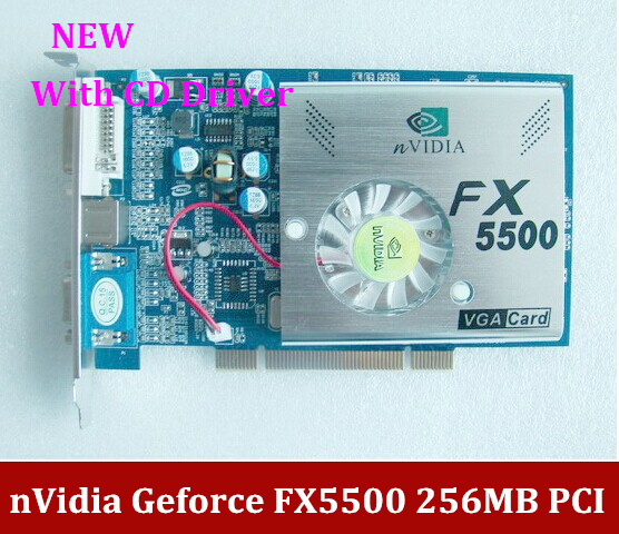 nVIDIA GeForce FX5500 256 128 VGA/DVI