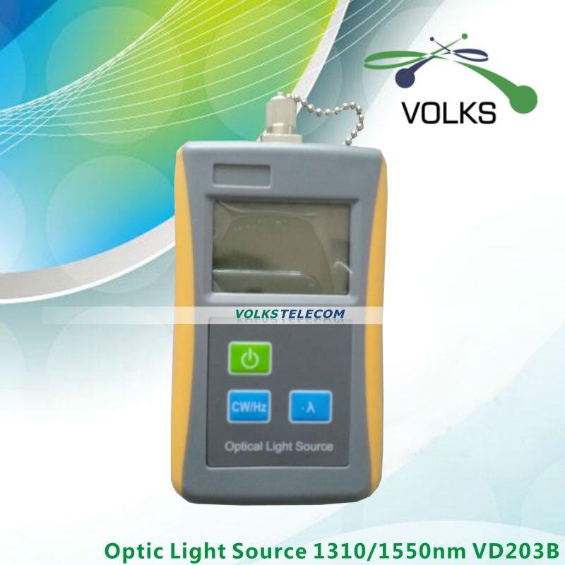 Source lumineuse à Fiber optique 1310/1550nm VD203B livraison gratuite
