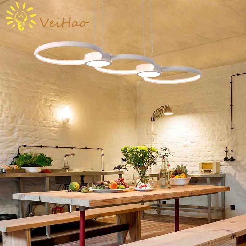 Minimalism Modern LED Pendant Lights for Dining Room Kitchen Room Living Room Hanging Suspension Home Deco Pendant Lamp