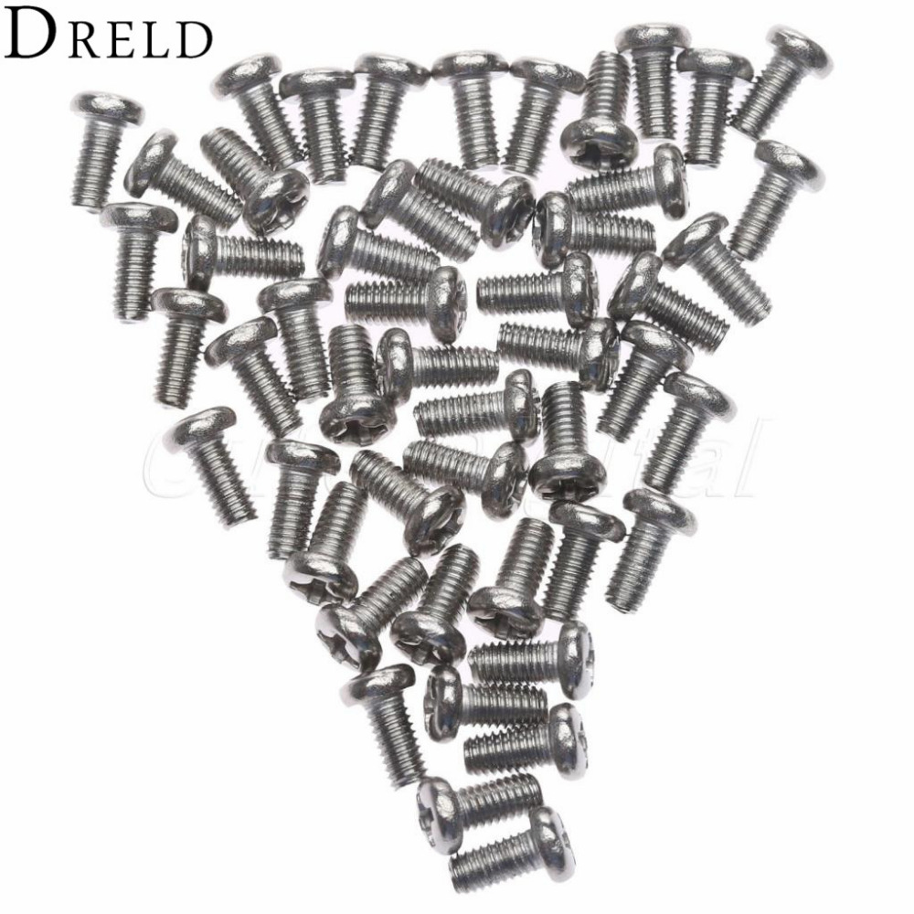 50pcs M3 x6mm Steel Head Screws Bolts Nuts Hex Socket Head Cap Screw Bolts Self-Tapping Screws Fasteners Repair Hardware Tools m4 x 12mm alloy steel hex bolt socket head cap screws black 50 pcs