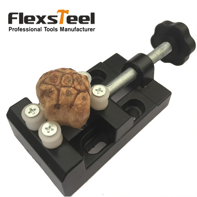 Flexsteel pc jaw carving bench clamp walnut clamp drill press