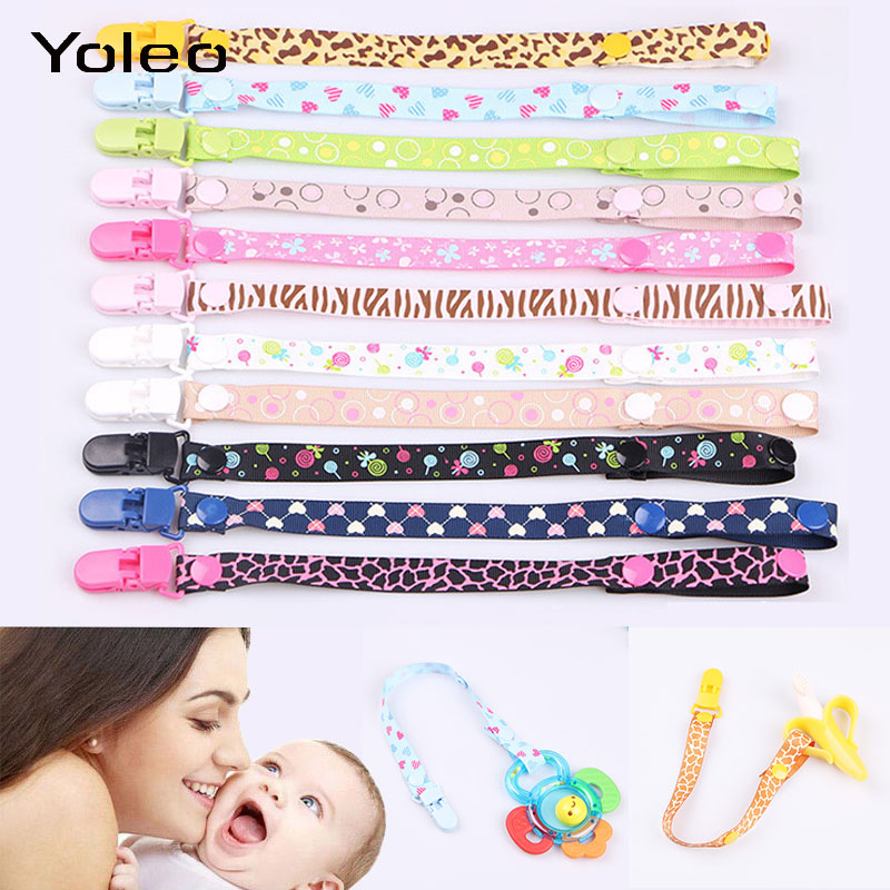 Baby Pacifier Clips Pacifier Chain Dummy Clip Nipple Holder For Nipples Children Pacifier Clip Soother Holder Attache Speenkoord