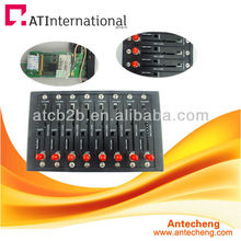 Wavecom gsm 8 портов модемного пула Q2406B 8 портов gsm gprs модем бассейн usb