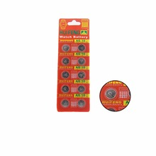 50pcs AG10  LR1130 G10 LR54 189 Button Cell Battery For Toy Watch Computer Free Shipping