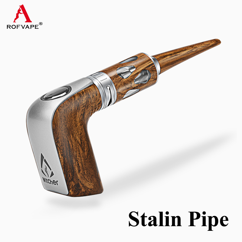 Electronic Cigarette Witcher Stalin E Pipe Kit Wooden Pipe E Cigarette Vaporizer Vape Kit VS Kamry