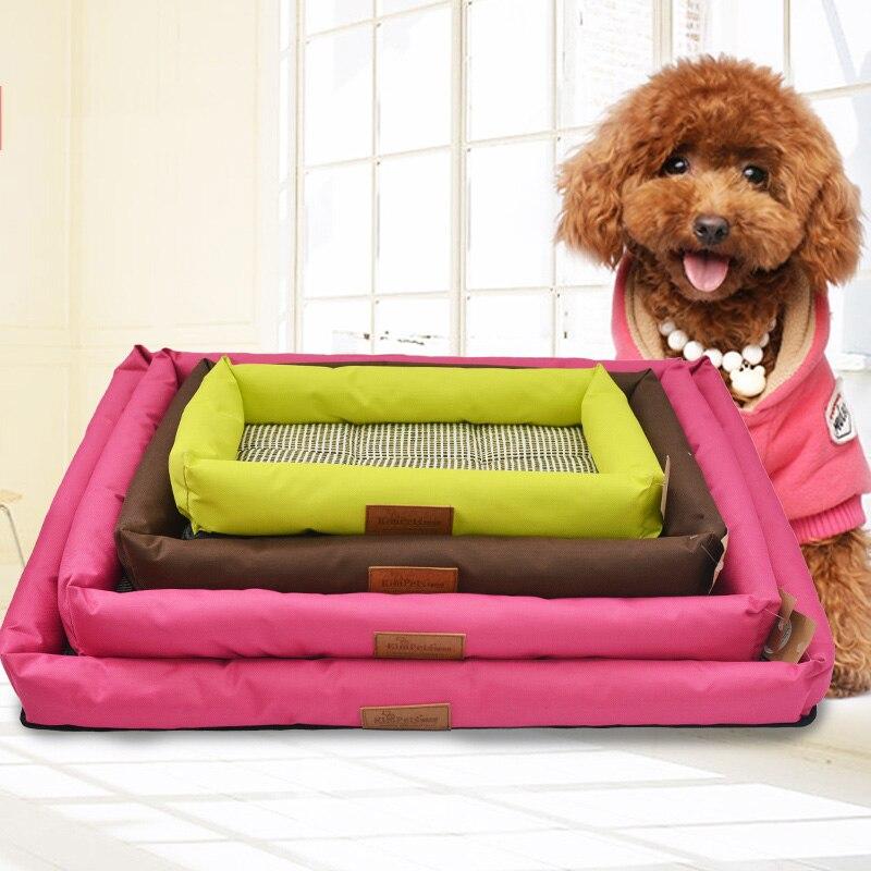 4 Maten Hoge Kwaliteit Pp Katoen Huisdier Mat Voor Grote Huisdieren Katten Mini Puppy Kennel Nieuwe Huisdier Bed Mode Zachte Warme Hond Huis Ademend