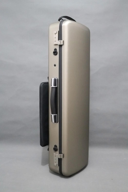 Золото Скрипки случае 4/4 композитных материалов Вес подшипник 150 кг два кодовый замок красный цвет
