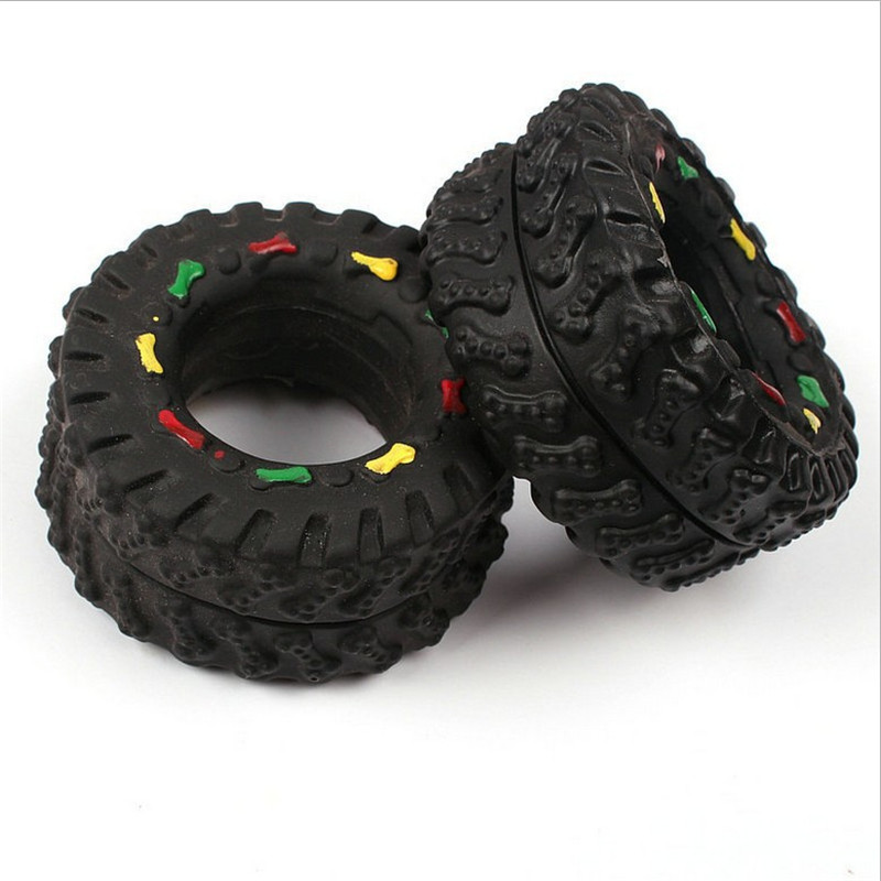 Dog Toys Resistant Chew Pet Toy Dog Games Interactive Rubber Small Tires Toy For Small Large Dogs Animals Honden Speelgoed