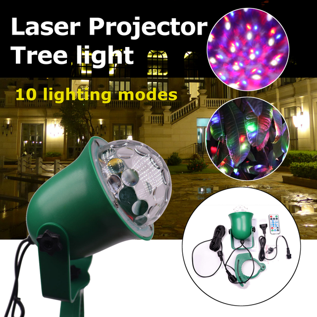 Ermäßigte 110 220 V Outdoor Laser Projektor Baum Licht Led Lampe 10