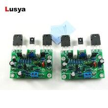 Novo 2 pc naim nap250 mod amplificador de áudio estéreo placa amplificador áudio 80 w kits diy/terminado DC15V 40V A5 013