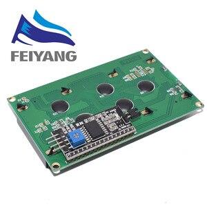 Image 4 - 10PCS LCD2004 + I2C 2004 20x4 2004A כחול/ירוק מסך HD44780 אופי LCD/w IIC/I2C סידורי ממשק מתאם מודול