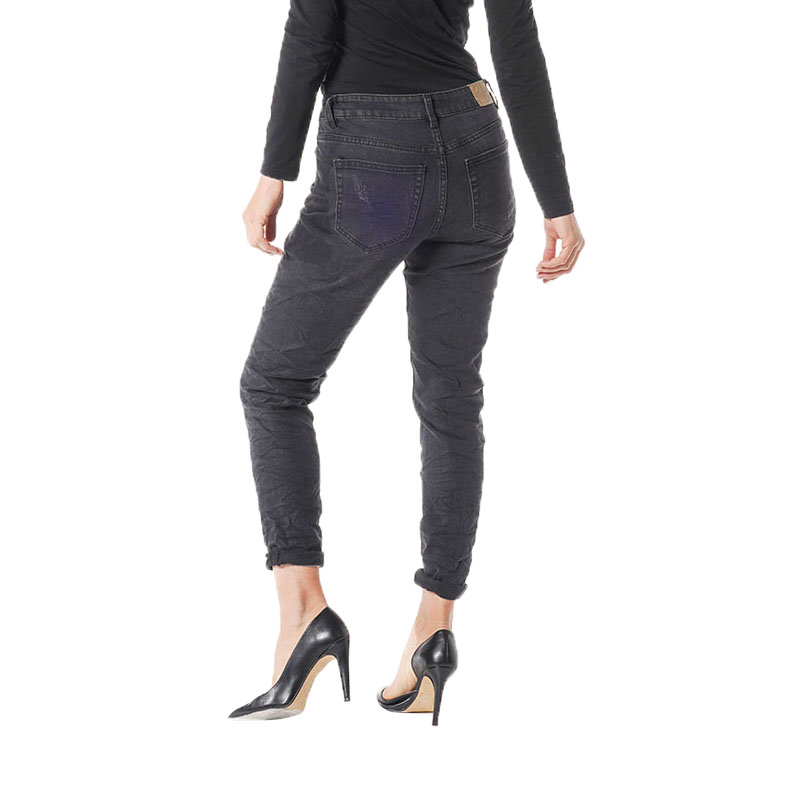 My Will Jeans Fashion Pop Pearl Black 709 Made In China