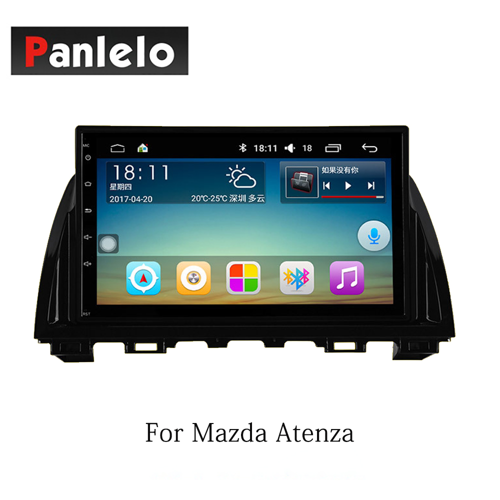Panlelo Android 7.1 2 Din pour Mazda 6 Atenza CX5 Atenza Axela Auto 1 GB 16 GB Radio AM/FM GPS Navigation BT commande au volant - 3
