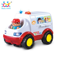 2 In 1 Ambulance Doctor Vehicle Set Baby Toys Pretend Doctor Set And Medical Kit Inside