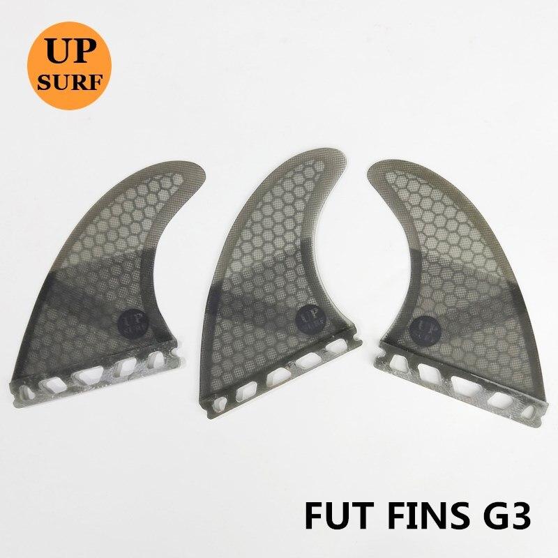 Surfboard Future G3 With Fiberglass Honey Surfing Fin 3PCS Tri Fin Set