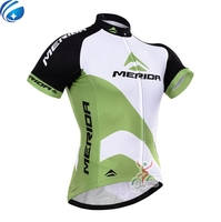 2017 Merida Cycling Jersey Bicycle Pro Racing Maillot Ciclismo Cycling Clothing Tops Polyester Breathable Short Sleeve