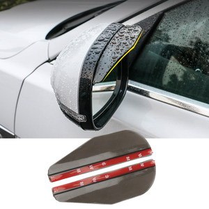 Car Accessories Rearview Mirror Rain Shade FOR seat leon 1 suzuki grand vitara golf iv dacia duster mitsubishi asx for suzuki(China)