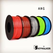Red color 3d printer filaments ABS filament 1.75mm filamento 1.75 3d filament 3d 1kg/spool for 3d impressoras filamento abs