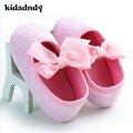 Zapatos antideslizantes Mujeres Cuna de Bebé Niño Zapatos de Bebé Zapatos Inferiores Suaves Zapatos de La Princesa Encantadora de Moda Diamante 0-1 Años WMC218